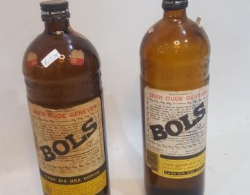 3 Botellas De Ginebra Bols Cod 31276