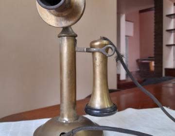 Teléfono antiguo Wester Electric Company EE.UU